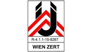 Haidbauer Holzbau - Wien Zertifikat