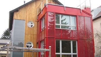 Haidbauer Holzbau - Fassaden Neugestaltung