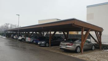 Carport Wohnhausanlage