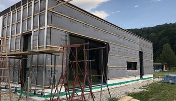 Alu-Unterkonstruktion