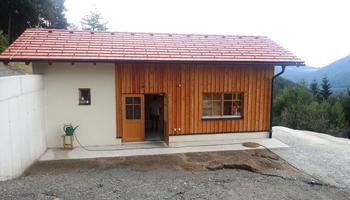 Vorher - Gartenhaus