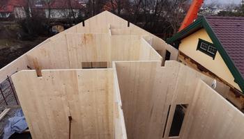 Massivholzbauweise