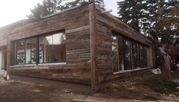 Zubau mit Altholzfassade