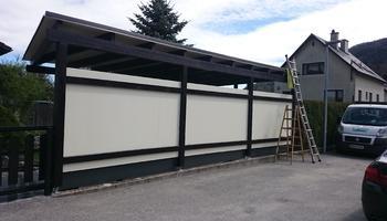 Haidbauer Holzbau - Carports Eingang